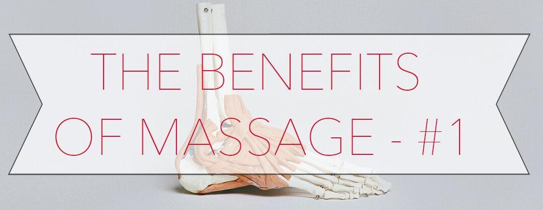 5 Benefits of Massage